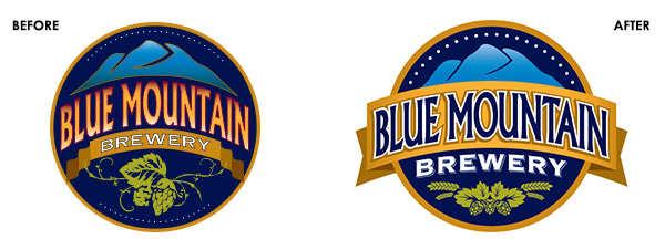 Blue Mountain Brewery Brand Refresh