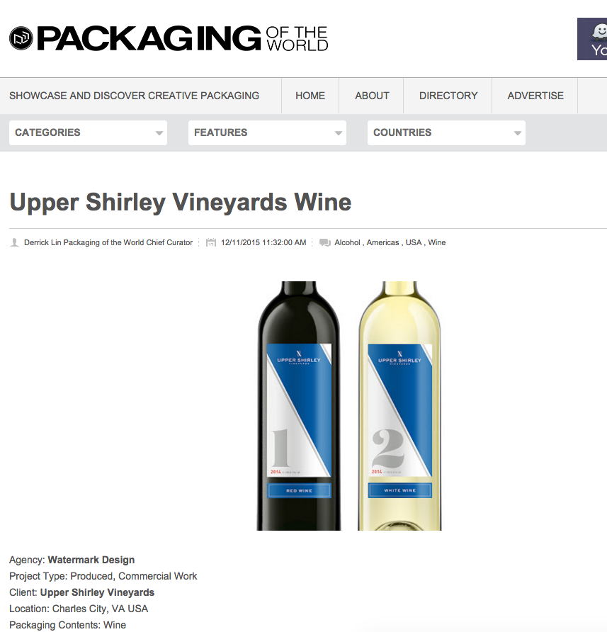 Watermark Package Design Feature for Upper Shirley
