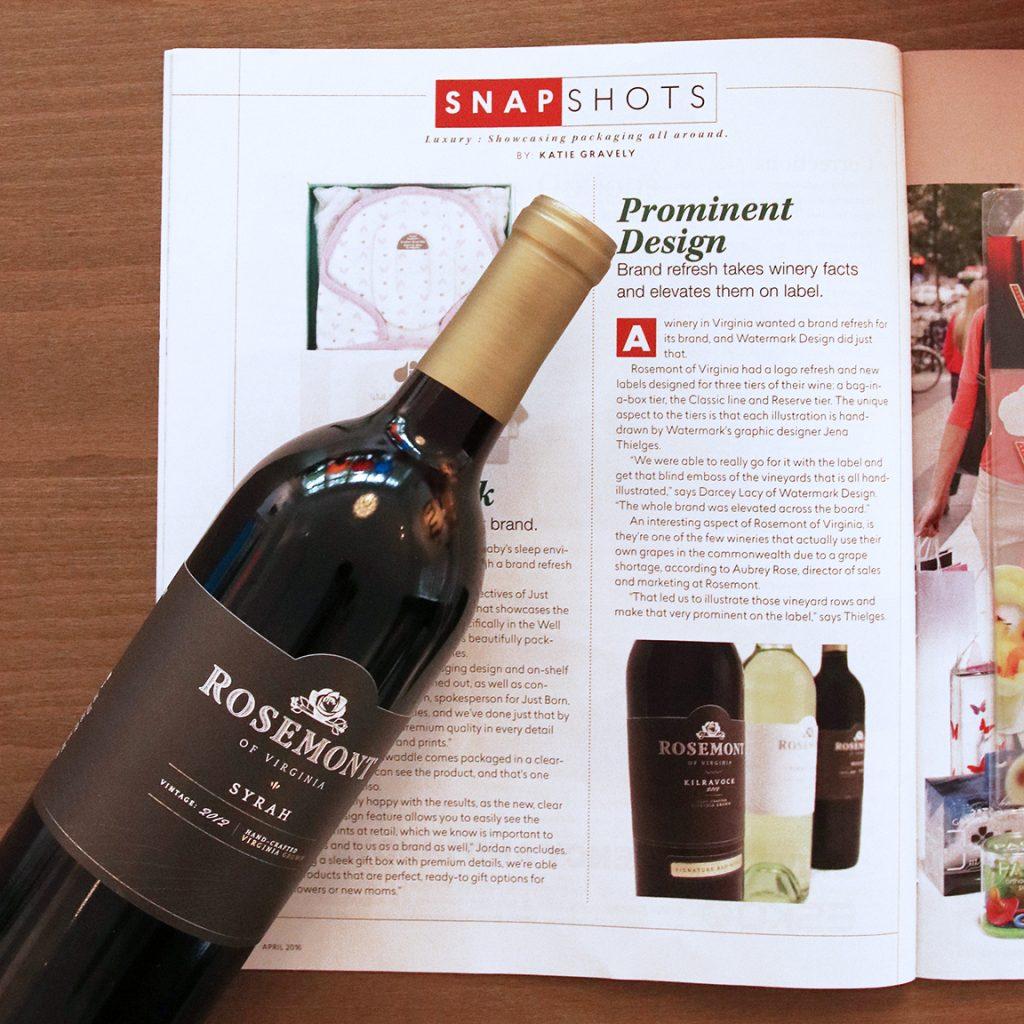 Package Design Magazine Rosemont Feature
