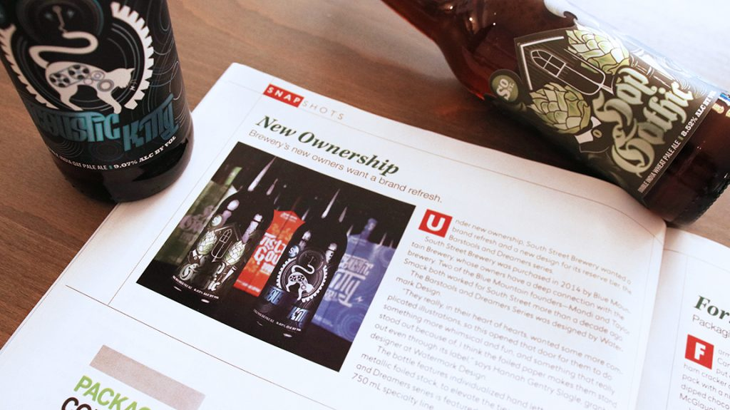 Package Design Magazine Brewery Feature