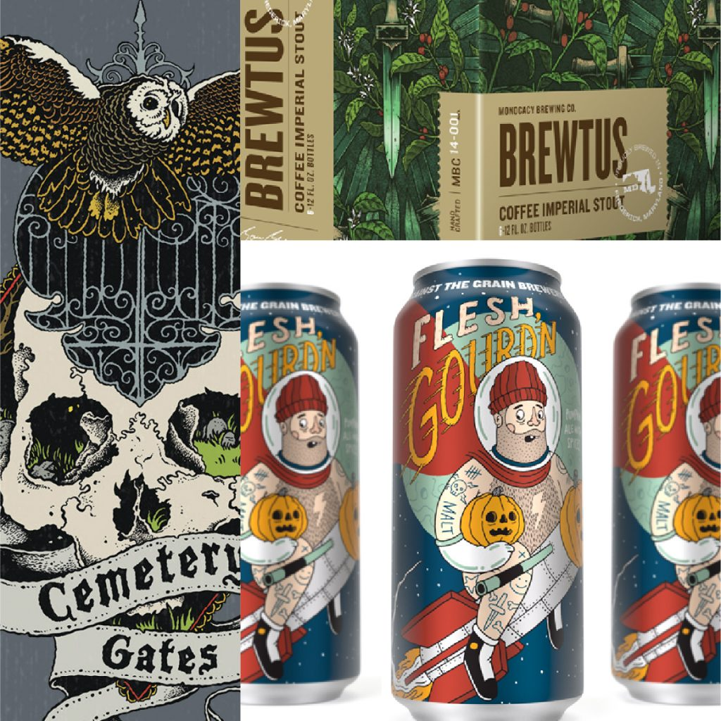 4 Beer Packaging Trends of 2016 : Illustrations