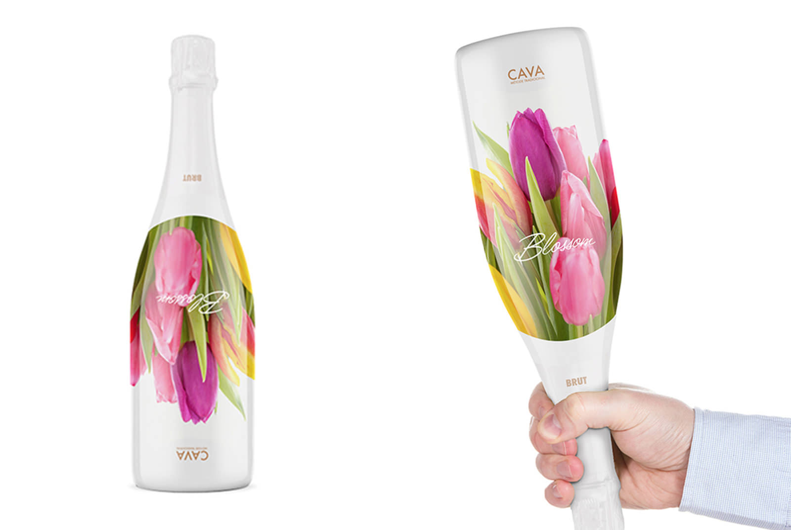 Image of Cava Sparkling Wine Packaging