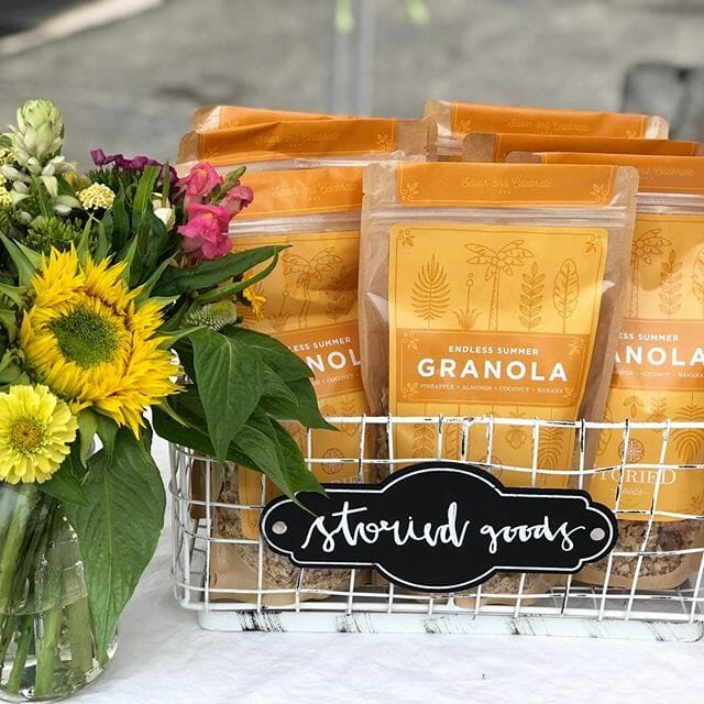 Storied Goods Granola Package Design Endless summer