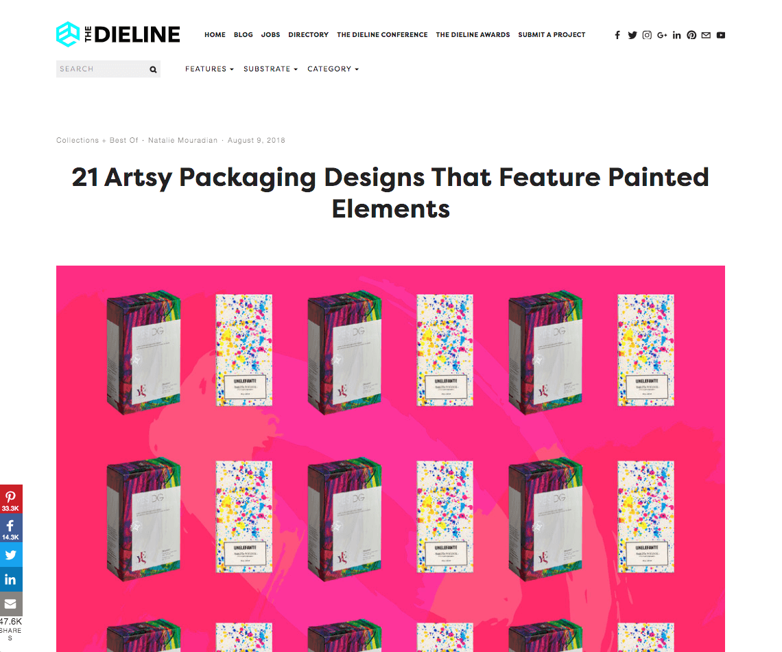 The Dieline Watermark Design