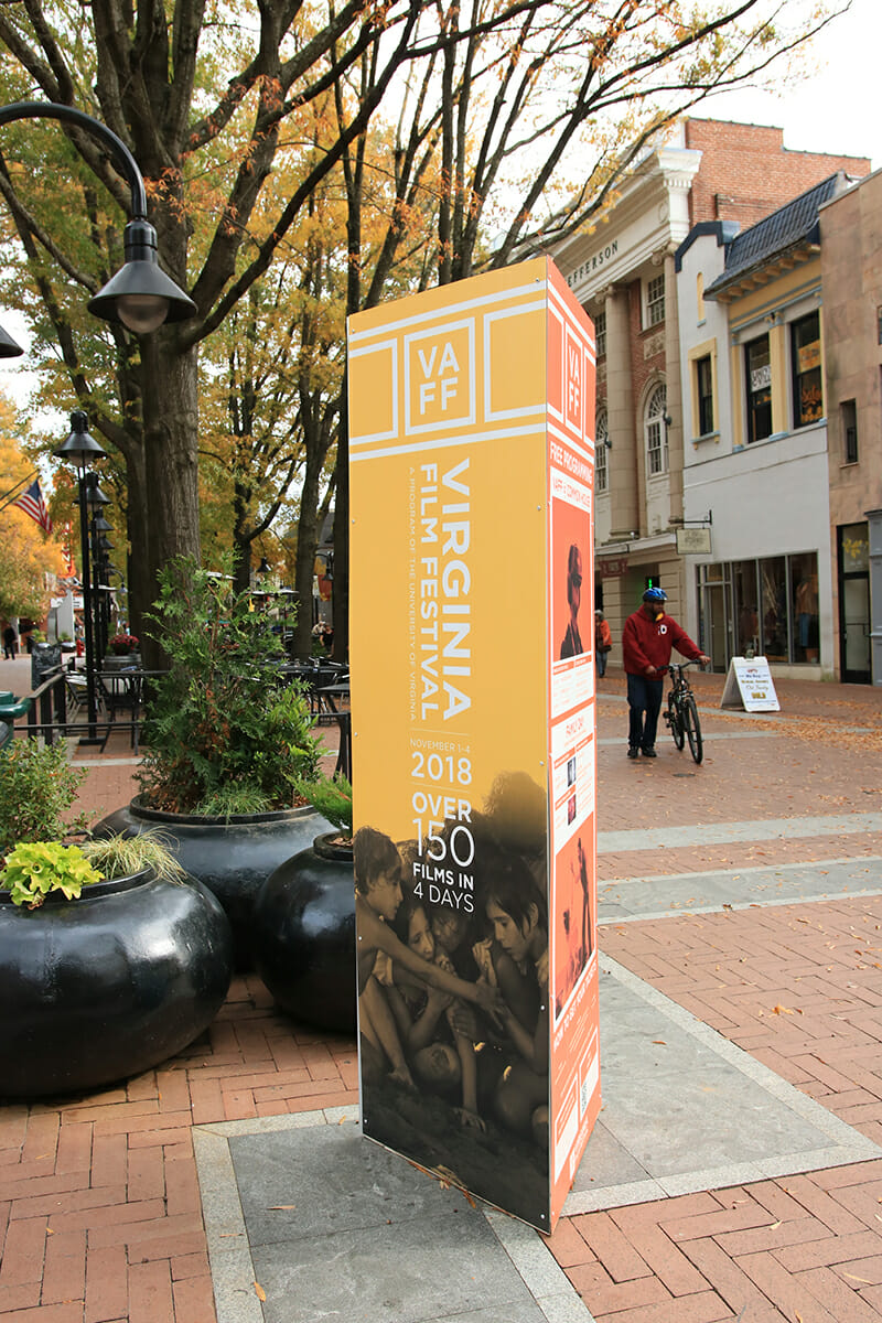 Va Film Fest 2018 Charlottesville VA Downtown Mall